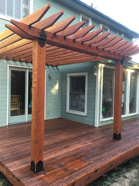 how to determine pergola rafter spacing ozco building
