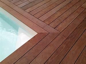 Tour De Piscine Bois : construire une plage de piscine en bois blog terrasse bois ~ Premium-room.com Idées de Décoration
