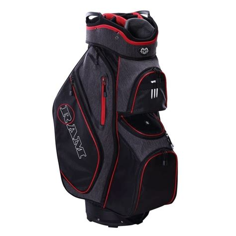 ram golf  cart bag   full length dividers