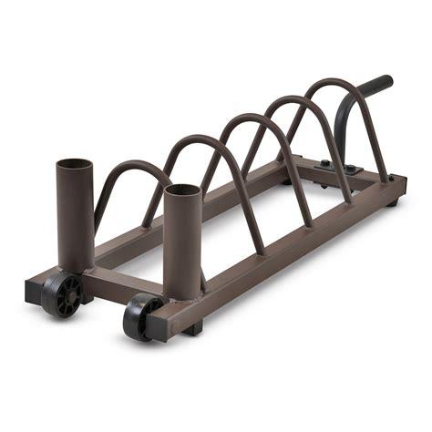 steelbody horizontal plate rack weight storage  hayneedle