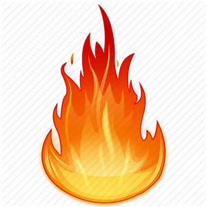 Flame clipart transparent background - Pencil and in color ...
