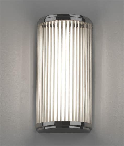 led wall lights led ip44 wall light glass rods h 250mm