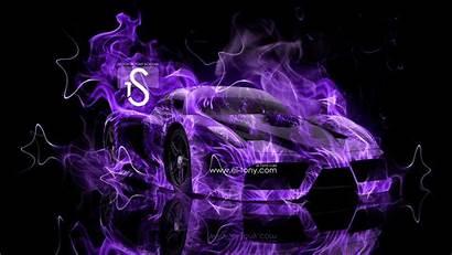 Fire Wallpapers Purple Cool