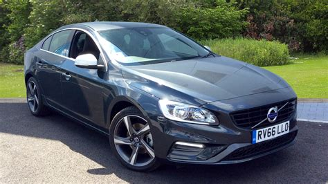 volvo s60 r design volvo s60 d3 r design manual used vehicle by volvo cars