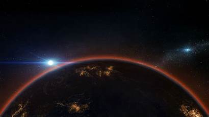 Space Earth 4k Horizon Galaxy Atmosphere Wallpapers