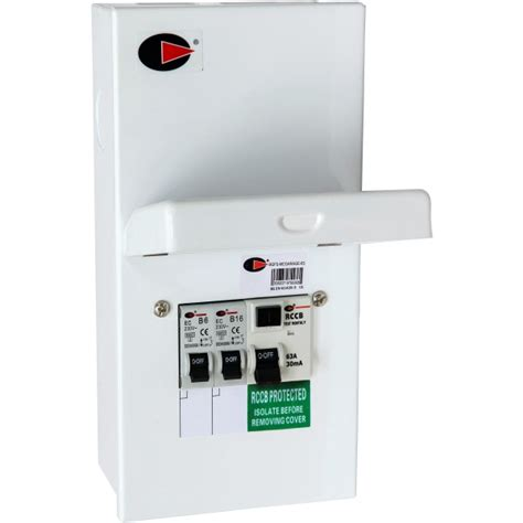 lewden garage rcd consumer unit switch electrical wholesale limited