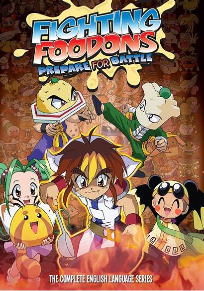 Fighting Foodons Dvd Anime Series Ultra Maniac