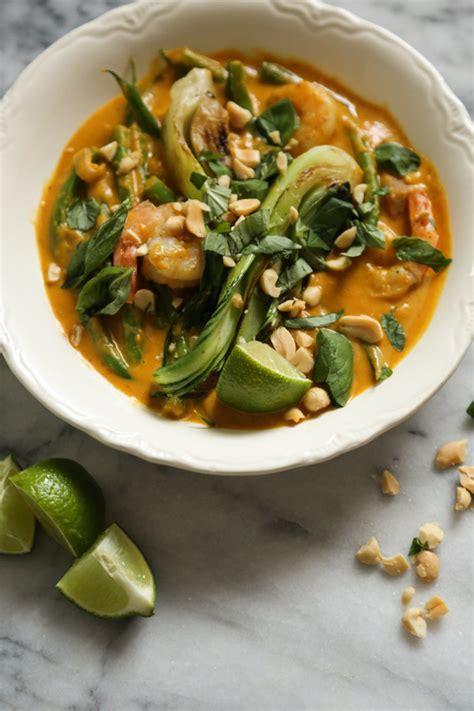 Thai Red Pumpkin Curry Recipe by Thai Pumpkin Curry Recipe With Shrimp And Bok Choy