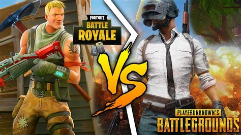 top  differences  fortnite  pubg player