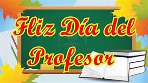 Gracias Maestros, Feliz Día del Maestro, Poesia para Dia del Profesor YouTube