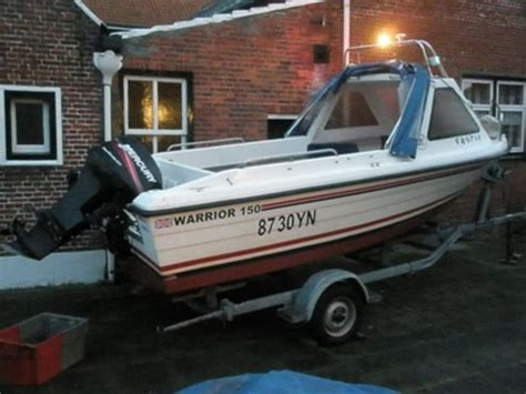 Warrior Visboot Te Koop by Watersport En Boten Warrior 150 Zoekertjes Net