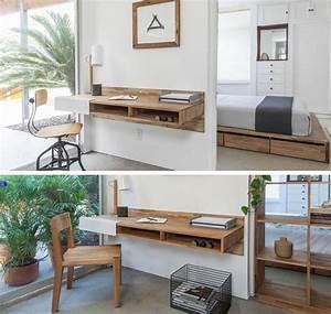 Small, Desk, Ideas, Storage, Bin, Desk