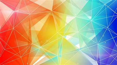 Colorful Background Abstract Triangle Backgrounds 4k Wallpapers