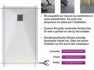 Bac A Douche Resine : receveurs de douches longueur 85 receveur de douche 85 ~ Premium-room.com Idées de Décoration
