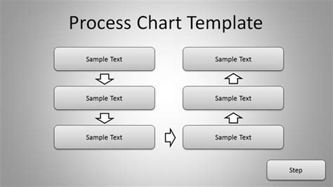 simple process chart template  powerpoint