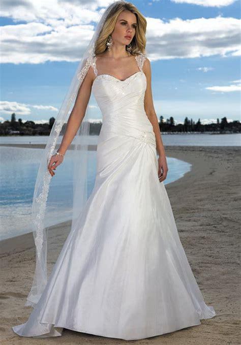 beach style wedding dresses