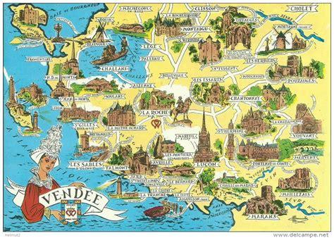 Carte Avec Monuments Historiques by Carte Des Monuments Historiques De Vend 233 E 85