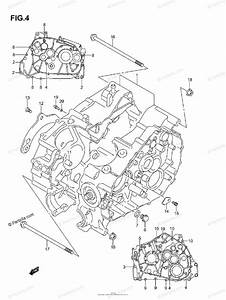 Suzuki Atv 2004 Oem Parts Diagram For Crankcase