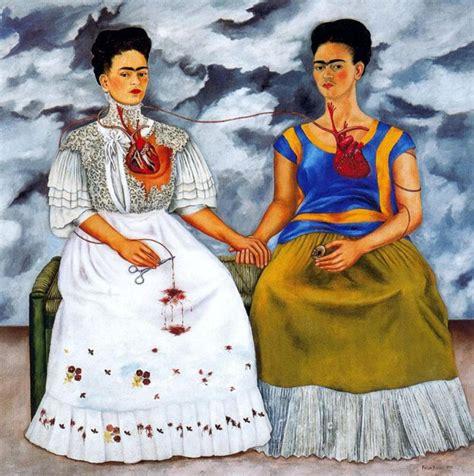 autoportrait frida kahlo les deux frida biographie peintre analyse histoire de l