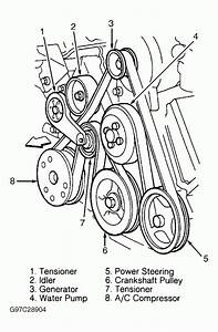 2000 Ford Expedition V8 4 6l Serpentine Belt Diagram