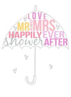 bridal shower clip bridal shower umbrella clip