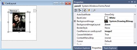 started  windows forms layoutmanagers control