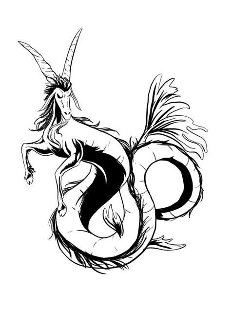 Capricorn Tattoo Images & Designs