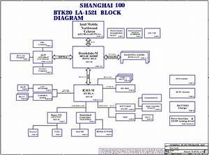 Toshiba Satellite 1000 1110 Laptop Schematic Diagram