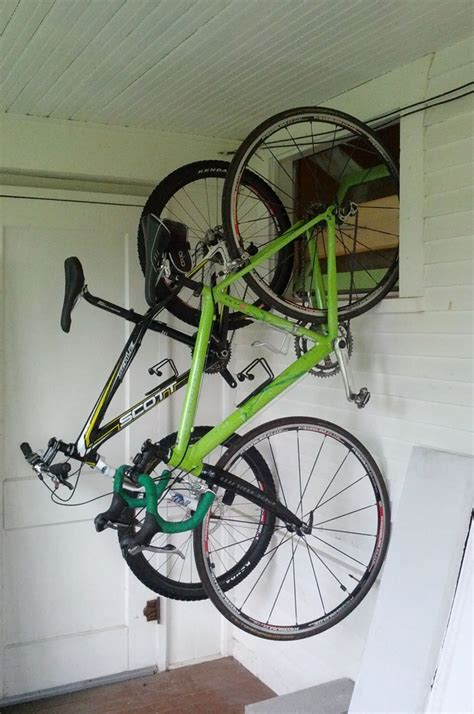 Apartment Bike Rack Solutions by Build An Apartment Sized Bike Rack Out Of Pvc Bikes Diy