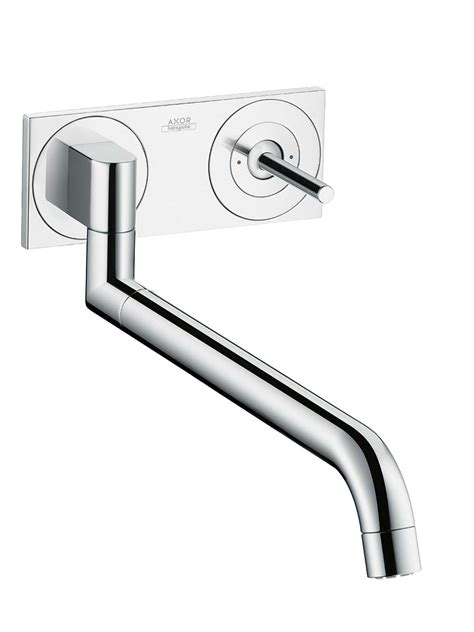 hansgrohe axor uno2 kitchen faucet axor uno2 kitchen taps by design for hansgrohe