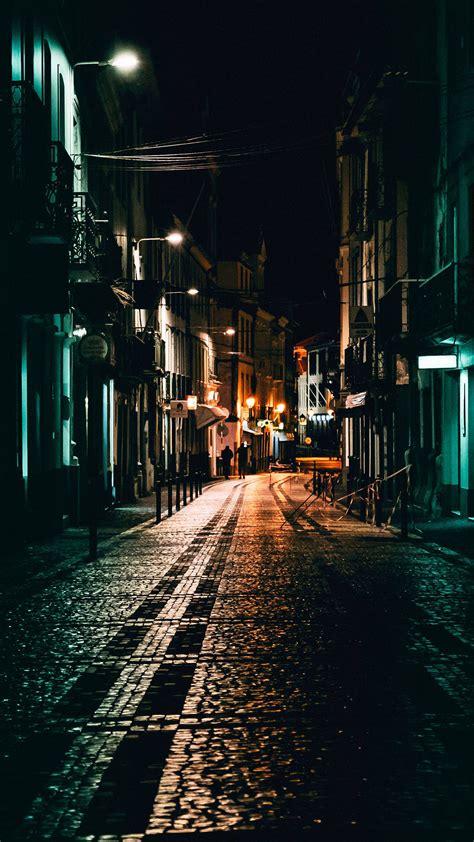 night view  street eye catching wallpapers
