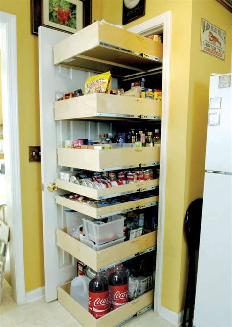 Kitchen Cupboard Storage Ideas - decorate ikea pull out pantry in your kitchen and say goodbye to your stuffy kitchen homesfeed