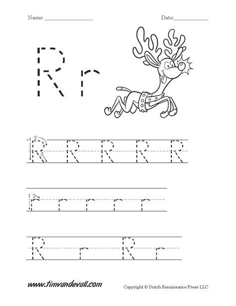 Letter R Worksheet  Tim's Printables