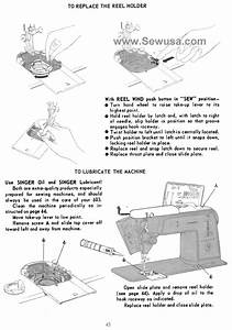 Singer Touch  U0026 Sew 603 Sewing Machine Cleaning  Oiling