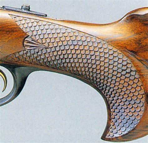 wood gun stock carving patterns skip  checkering