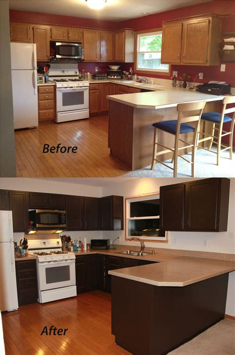 kitchen remodel keeping old cabinets small kitchen remodel before and after for stunning and
