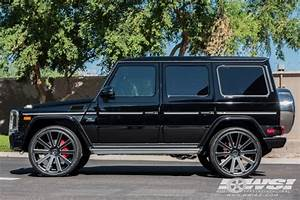 "2015 Mercedes Benz G Class with 24"" Gianelle Santoneo in"