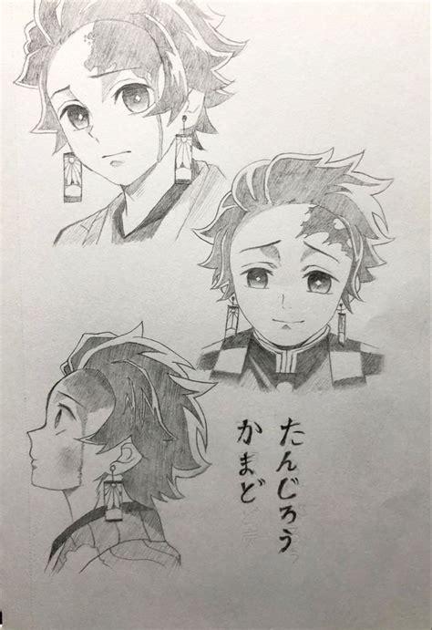 simple sketch  tanjiro   sketches easy zelda