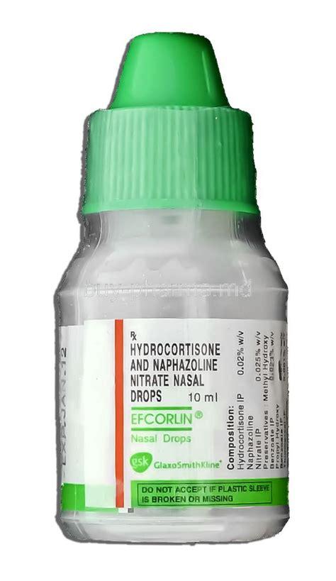 buy hydrocortisone naphazoline nitrate nasal drops