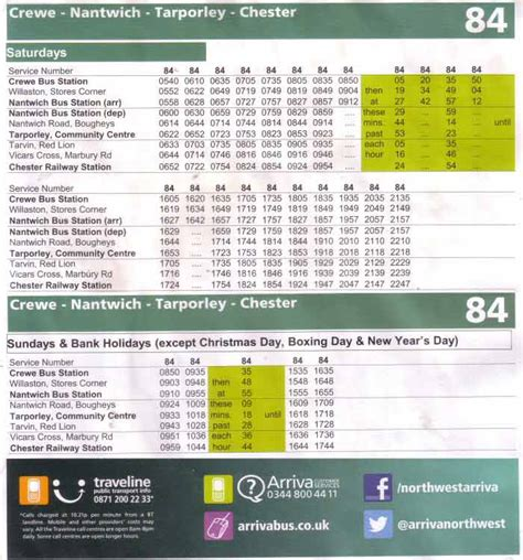 arriva phone number chester tourist chester transport buses arriva number 84