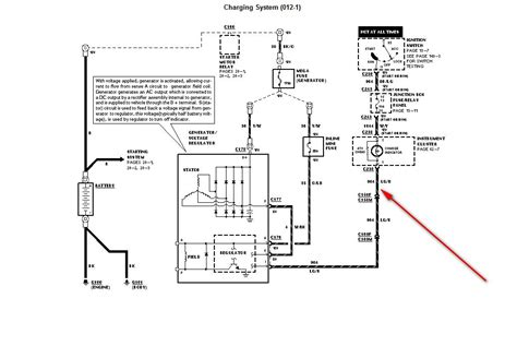 1998 ford explorer alternator wiring diagram ford 3 wire