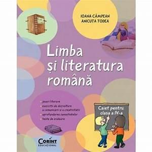 Limba Si Literatura Romana  Caiet Pentru Clasa A Iv-a