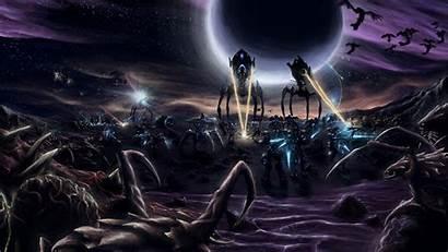 Starcraft Protoss Terran Zerg Ii Wallpapers 1080p