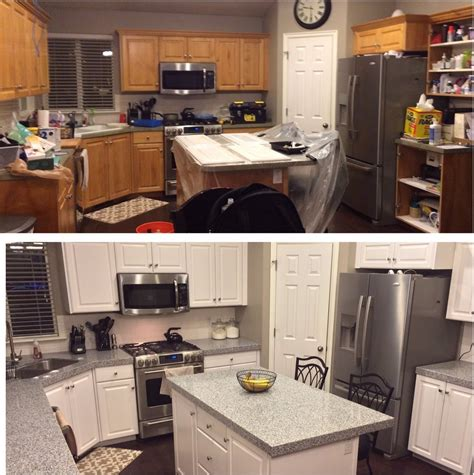 Top  Painting  Ee  Kitchen Ee   Cabinets White  Interior