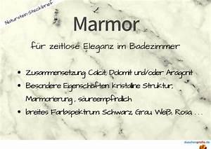 Marmor Im Bad : naturstein im bad eigenschaften vorteile von marmor co ~ Frokenaadalensverden.com Haus und Dekorationen