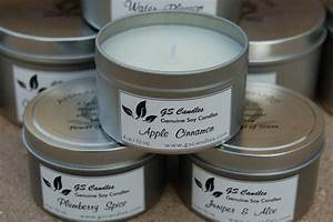 gs candle tins label customer ideas onlinelabelscom With how to make labels for candles