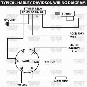002732 Starter Switch Wiring Diagram Hd Motorcycle
