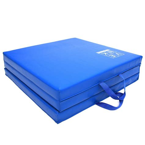 work out mats tri folding exercise thick mat workout