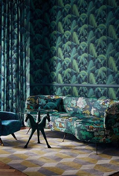 Cole Son Jungle Palm Fabric Interior Trends