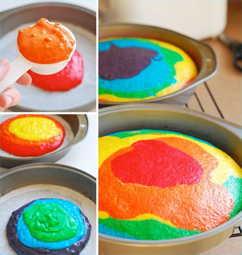 different of cakes to make rainbow cake a recipe gramkin paper studio